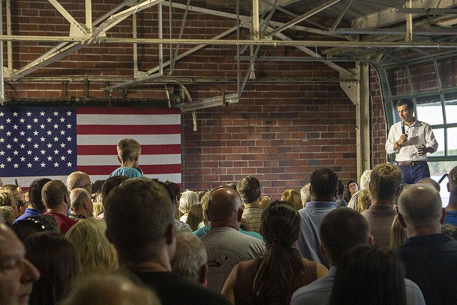In Iowa, Buttigieg seeks Trump voters. He may need more Democrats.