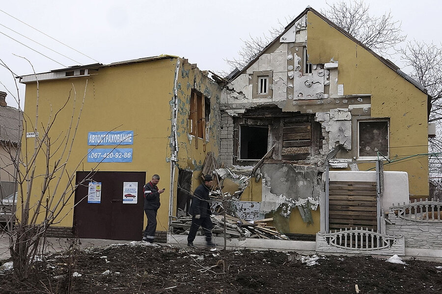 In eastern Ukraine, a broad desire for peace. But whose peace?