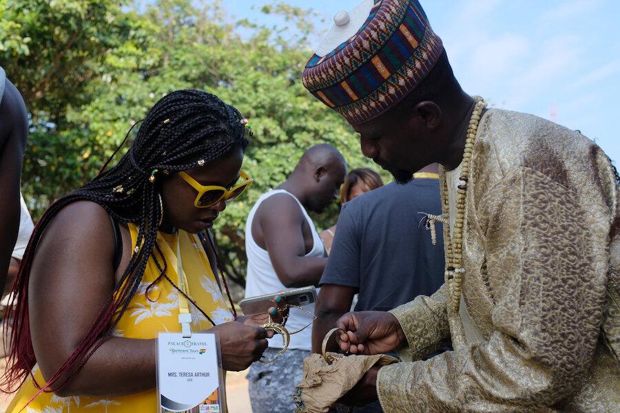 Slavery's 400-year anniversary brings tourist boom to Ghana