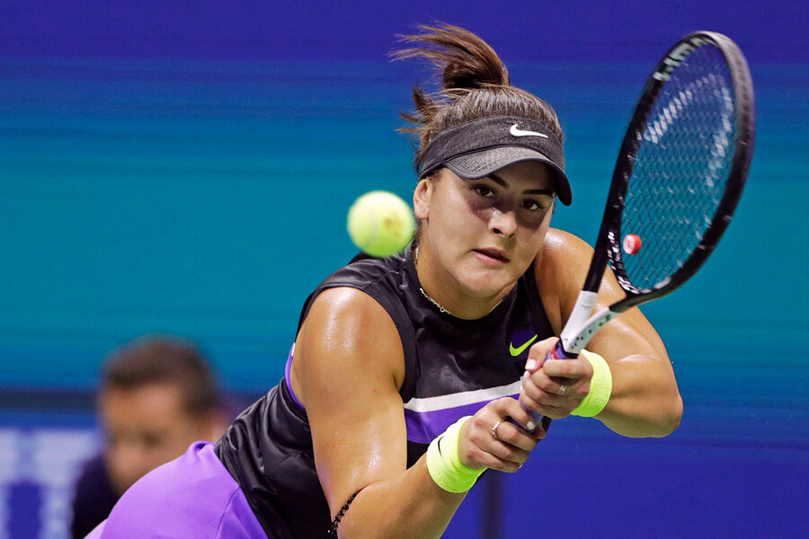 Bianca Andreescu enthralls Canada with her grace at US Open ...