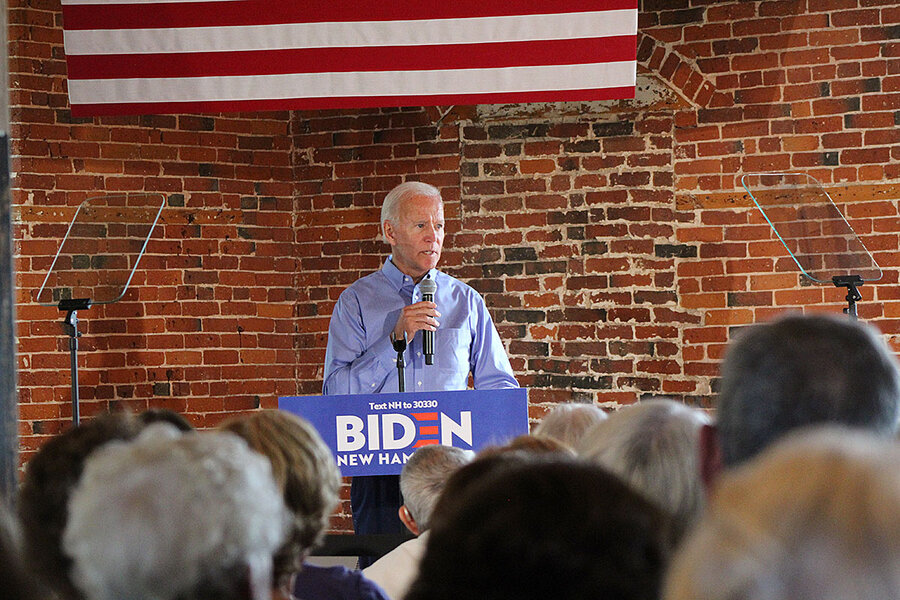 'Do you like Biden?' N.H. Democrats say, 'Sure, but ...'