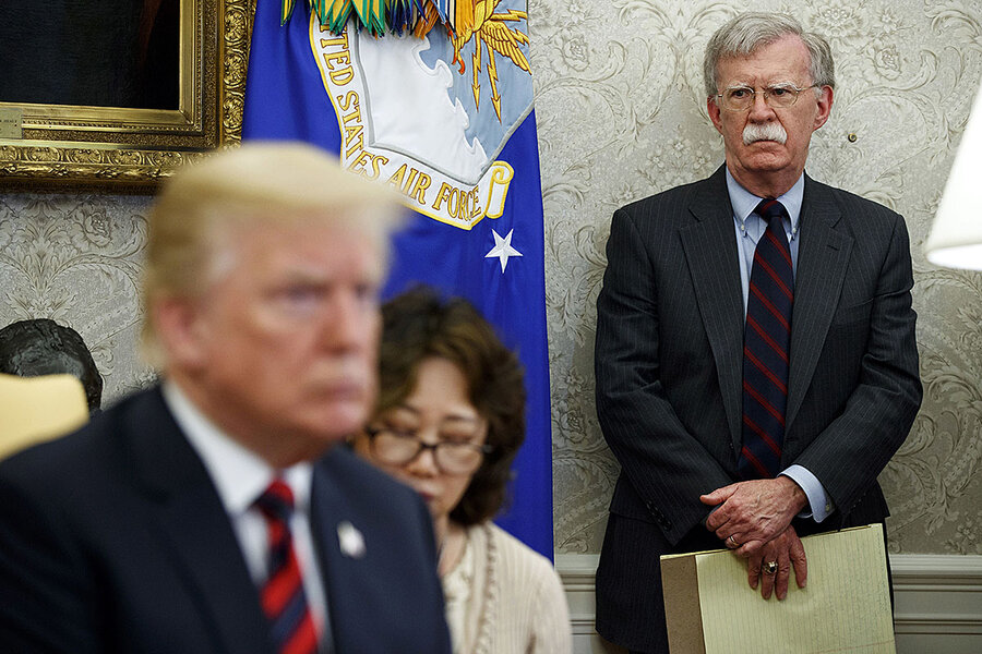 Trump and Bolton: Why their relationship chilled
