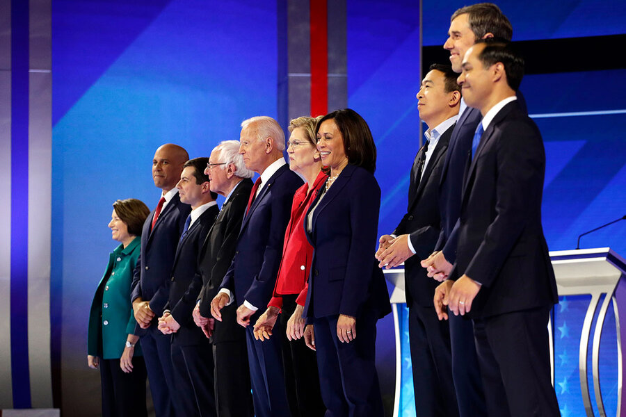 Democratic debate: The biggest winner was clear from the stage