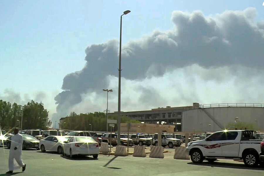 Attack on Saudi oil fields: A broader view