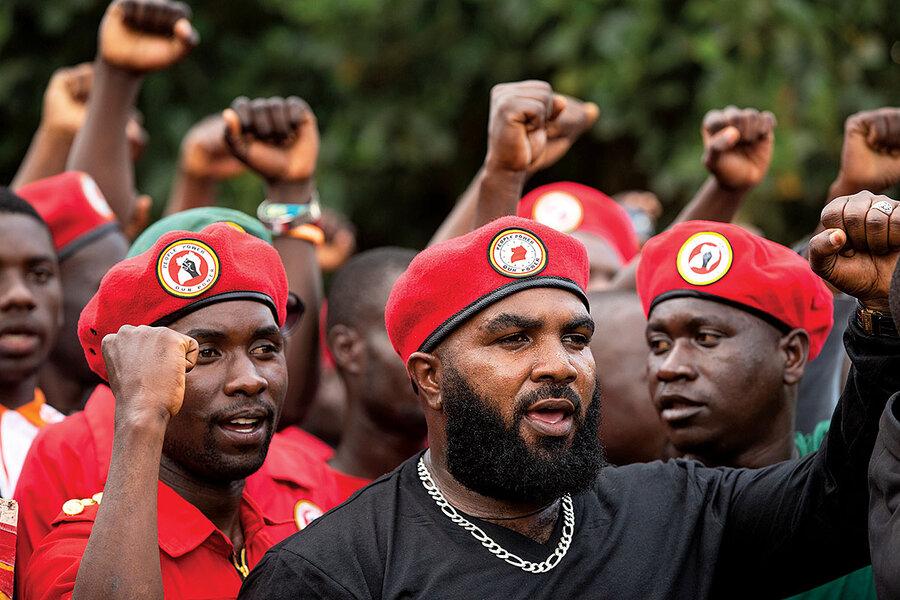 Uganda's Bobi Wine: A rapper's quest to be president - CSMonitor.com