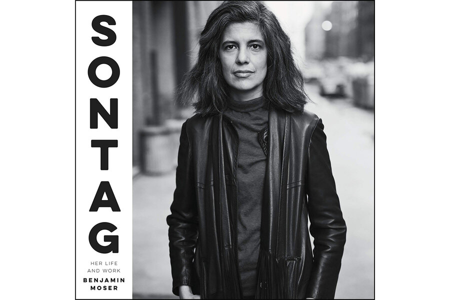 Susan Sontag's razor-sharp intellect is captured in new biography