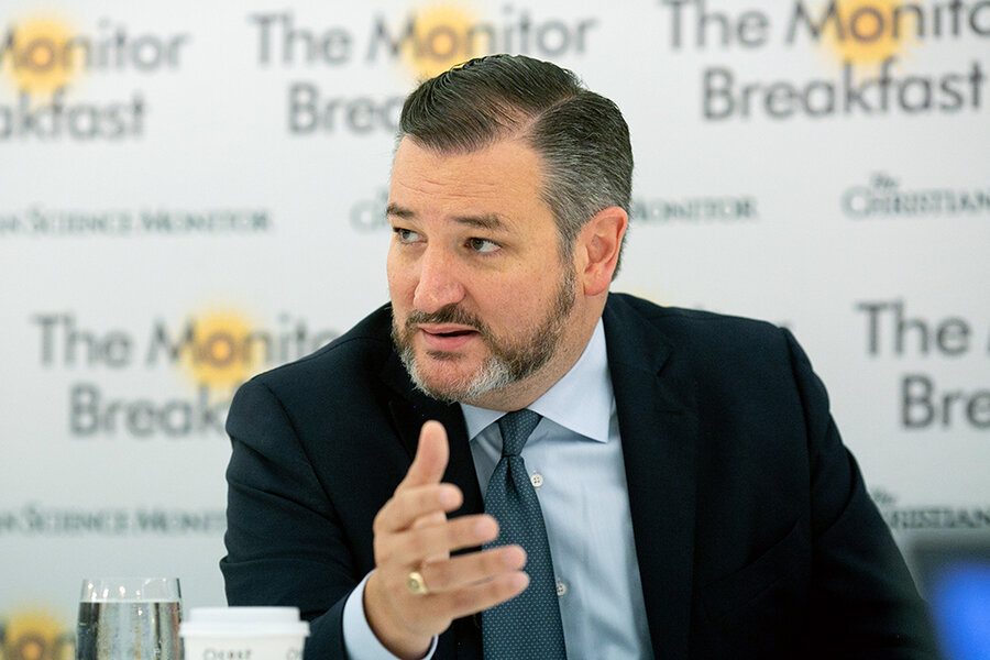 Breakfast with Ted Cruz: guns, Texas, and his political future