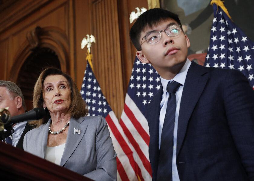 Hong Kong activists receive bipartisan Washington welcome