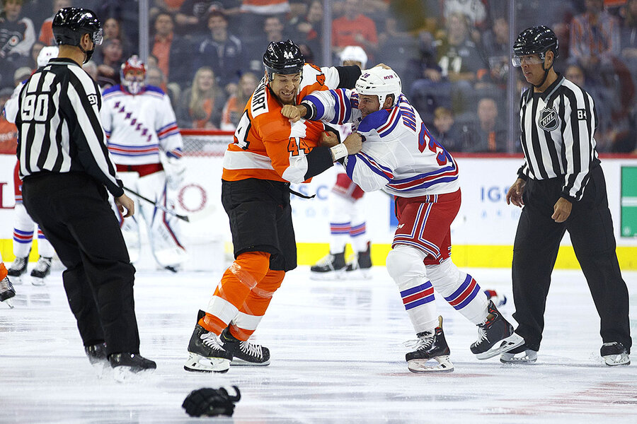 With hockey fights in decline, NHL shifts emphasis to speed, skill ...