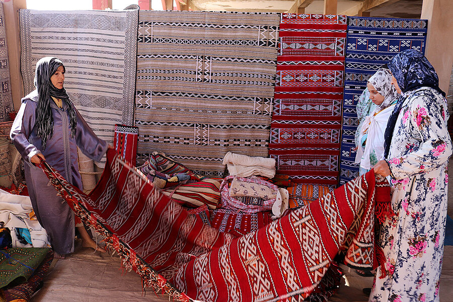 The Moroccan market where women rule