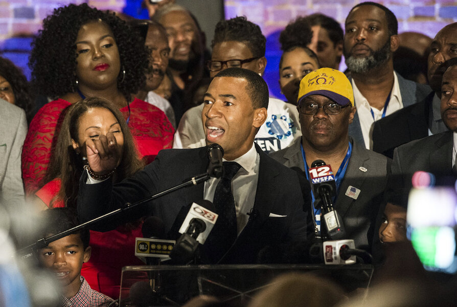 Birthplace of civil rights movement elects first black mayor