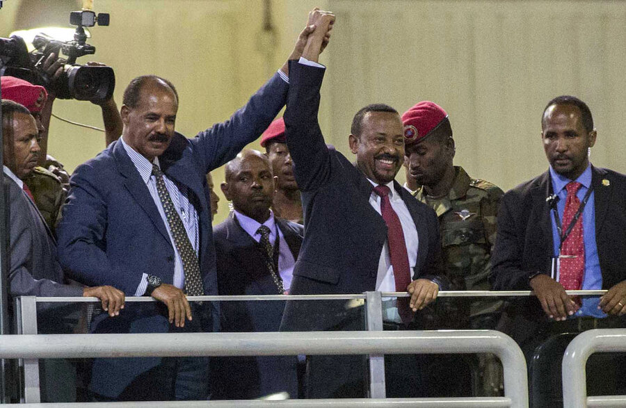 Ethiopian Prime Minister Abiy Ahmed wins Nobel Peace Prize