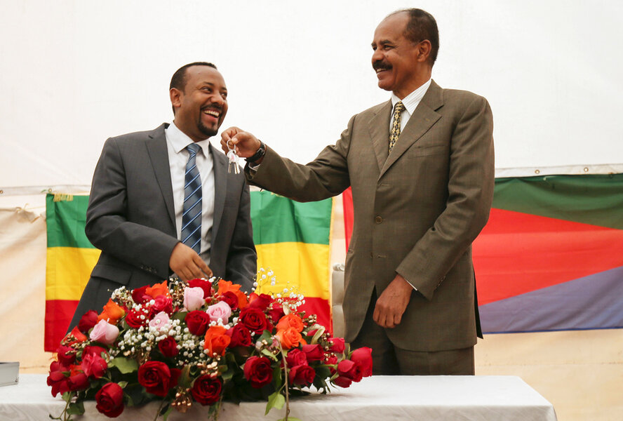 Why a peace prize befits Ethiopia's leader