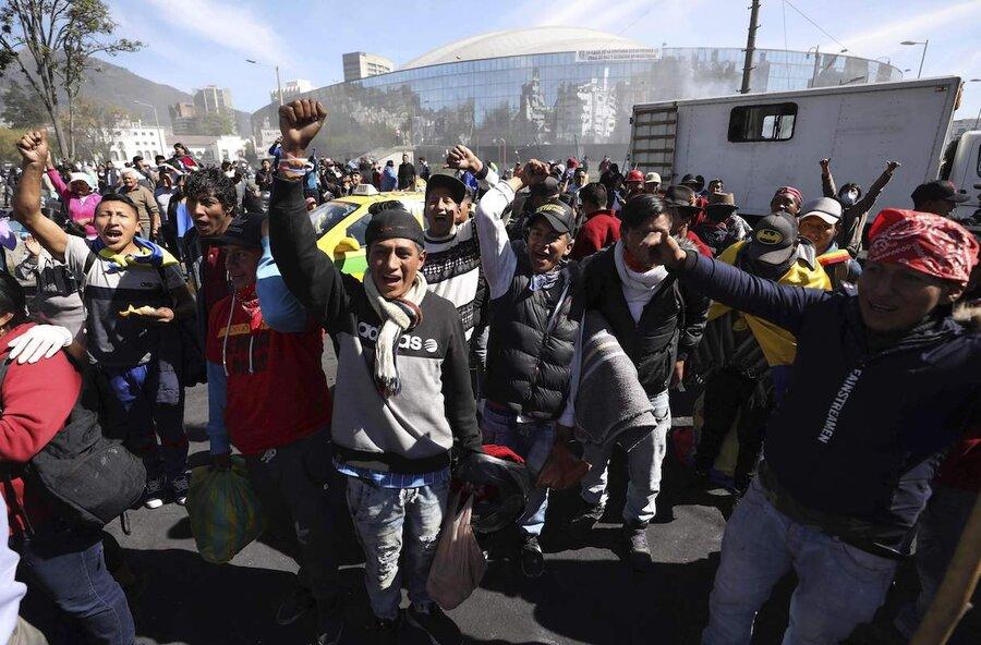 Indigenous protesters triumph, Ecuador to rework austerity plan