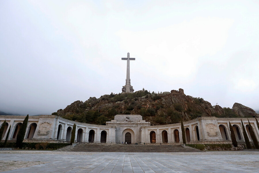 Spain relocates former dictator's remains, reexamines his legacy