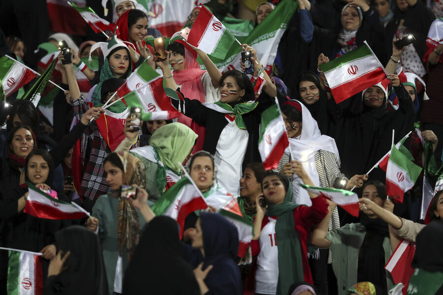 Points of Progress: Iranian women gain access to stadium, and more
