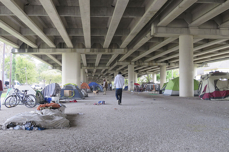 Houston, we have a solution: How the city curbed homelessness - The Christian Science Monitor