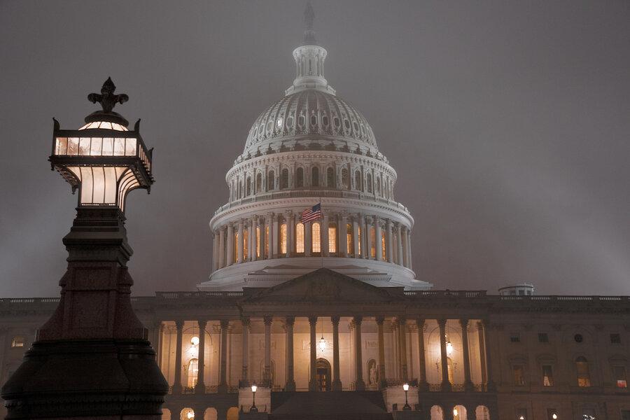 House OKs $1.4T government spending bill before impeachment vote