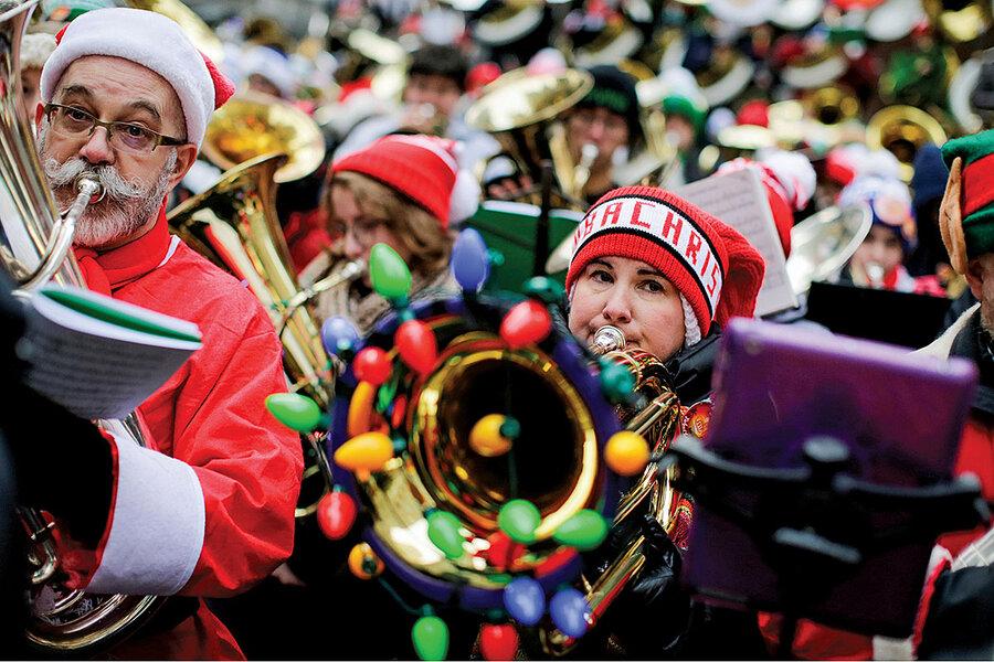 The caroling tubas of Portland
