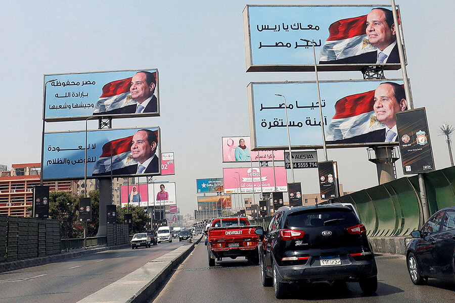 Why Egypt's President Sisi is rushing to embrace nation's youth
