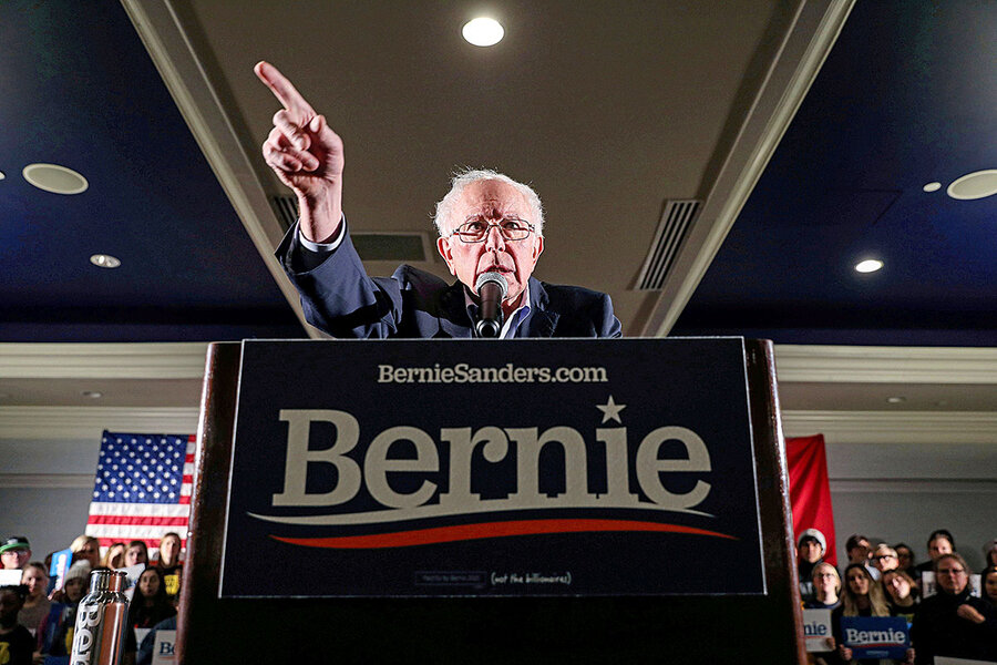 Sanders gains strength – and mainstream Democrats worry