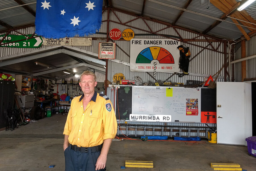 They're local heroes. But do Australia's unpaid 'firies' deserve more?