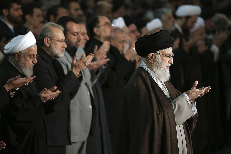 As Iran and Iraq simmer, giants of Shiite world vie for influence
