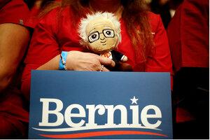 Bernie Sanders Puppet