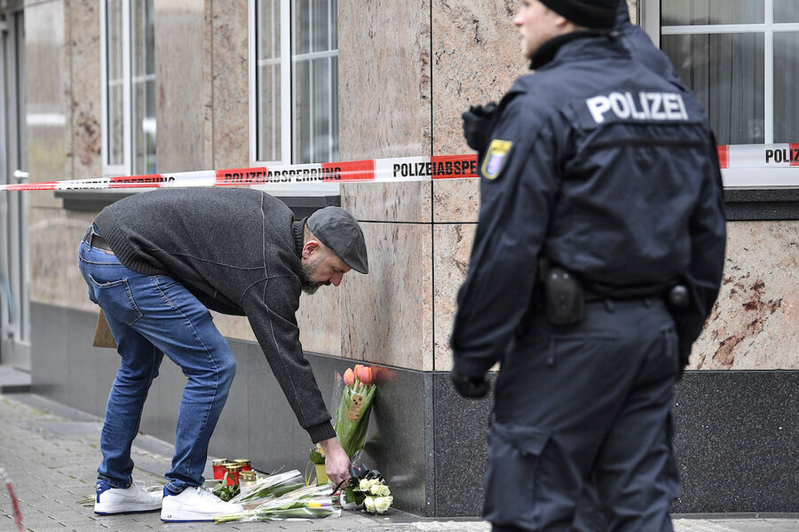 Deadly shooting in Germany points to far-right extremism