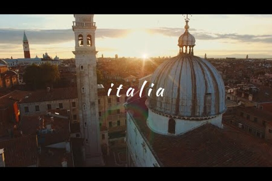 Reminder from an Italian videographer: Beauty is all around us