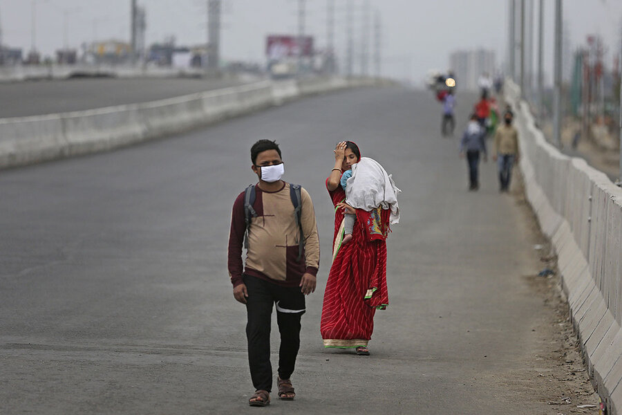 India's migrant workers hard-hit by COVID-19 lockdown - CSMonitor.com
