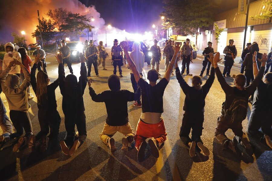 Violence amid protests of George Floyd's killing spur National Guard call-ups