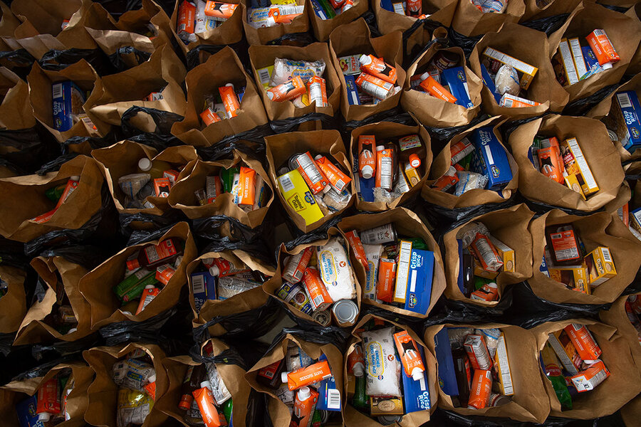 Feeding America during COVID-19: How food pantries are meeting record demand
