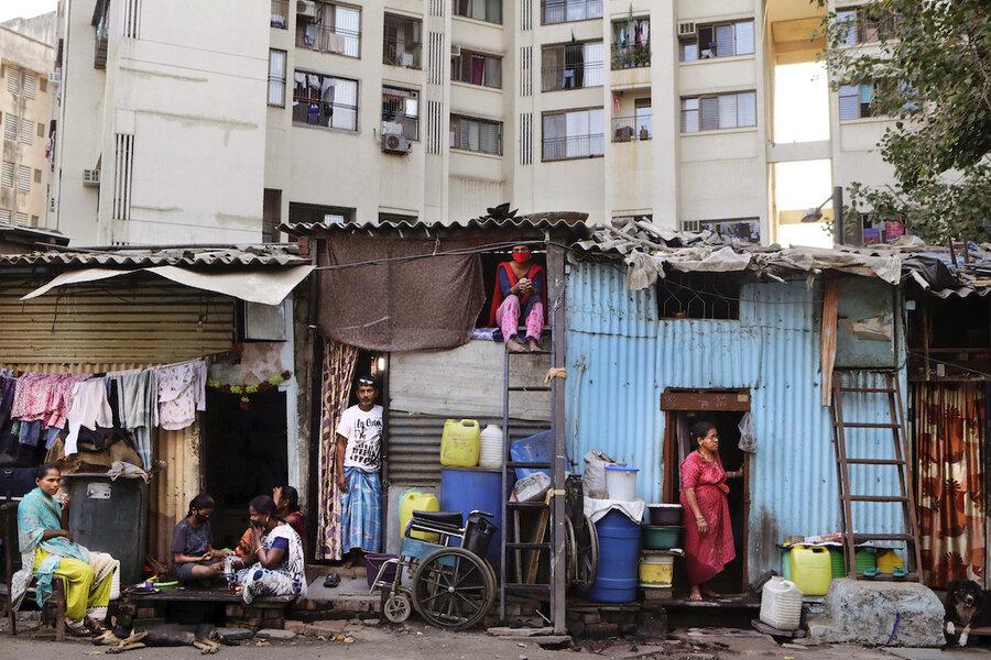 In India's slums, neighbors unite against a pandemic
