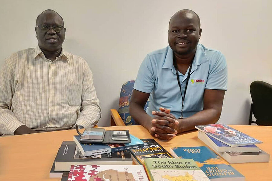 From South Sudan to Australia: One man's quest to save stories