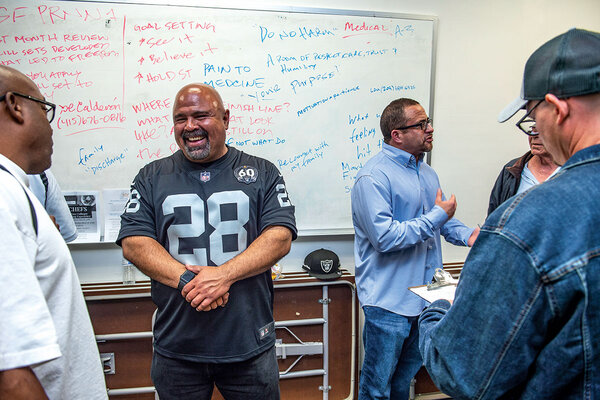 In a pioneering California program, former prisoners help newly released offenders cope on the outside.