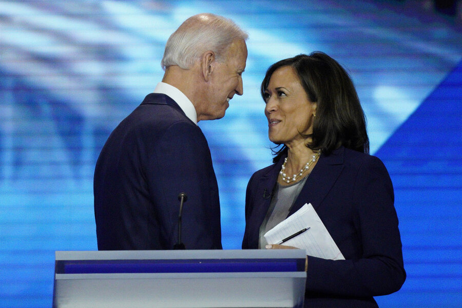Biden S Historic Choice As Running Mate Csmonitor Com