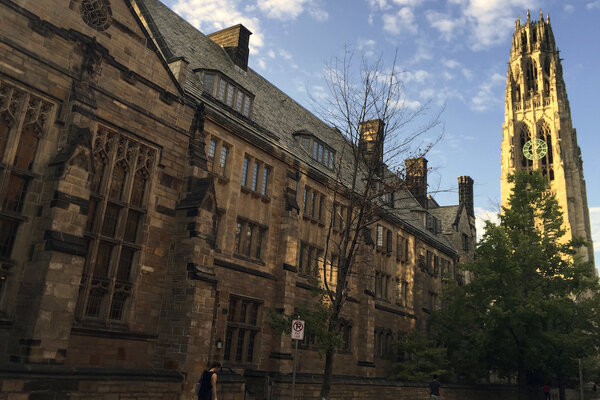 The Justice Department found that Yale University unlawfully discriminates against Asian American and white applicants, a claim the school