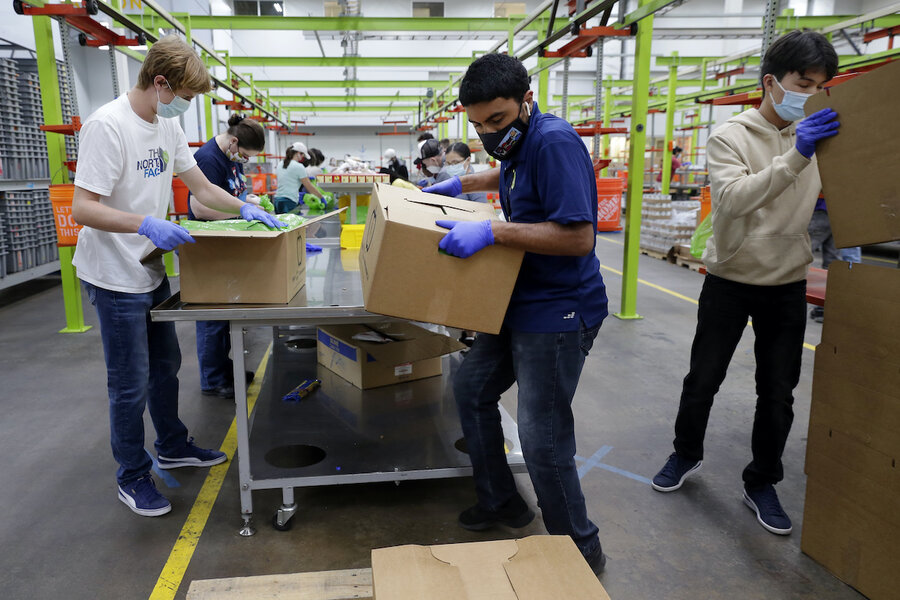 Houston Food Bank feeds 126,500 families monthly