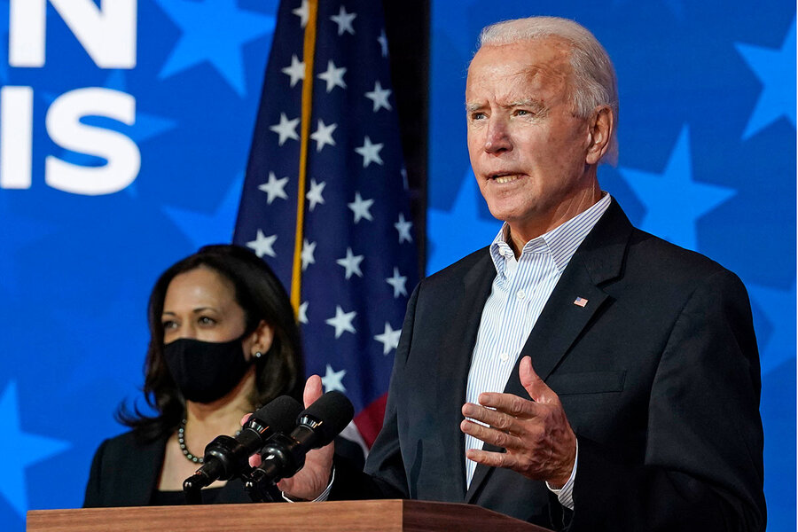 Can a President Biden lead a divided America?