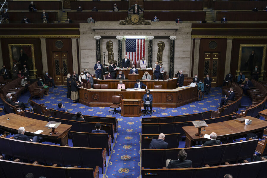 <p>Mob dispersed, Congress Functions Throughout the night to confirm Biden thumbnail