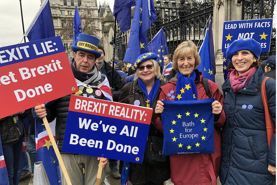 British, but also European: Brexit strains a nascent identity -  CSMonitor.com