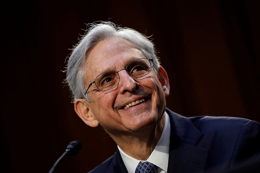 As attorney general, Garland vows to tackle domestic extremism thumbnail