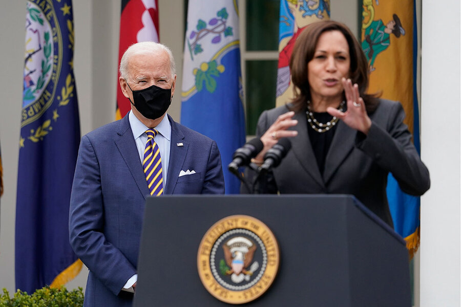 <p>Selling pandemic relief Strategy, Biden recasts presidency as a team effort thumbnail