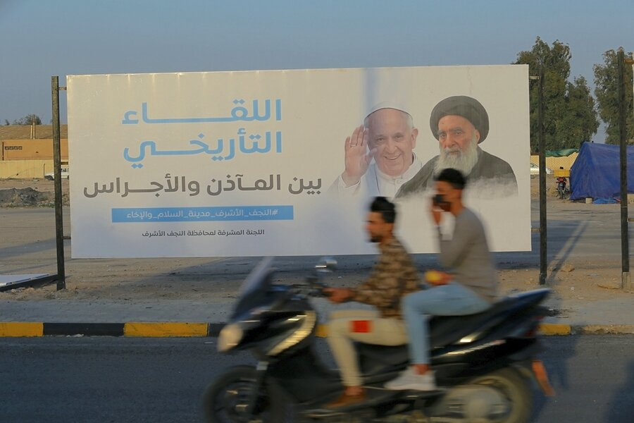 A welcoming that defines power in the Middle East