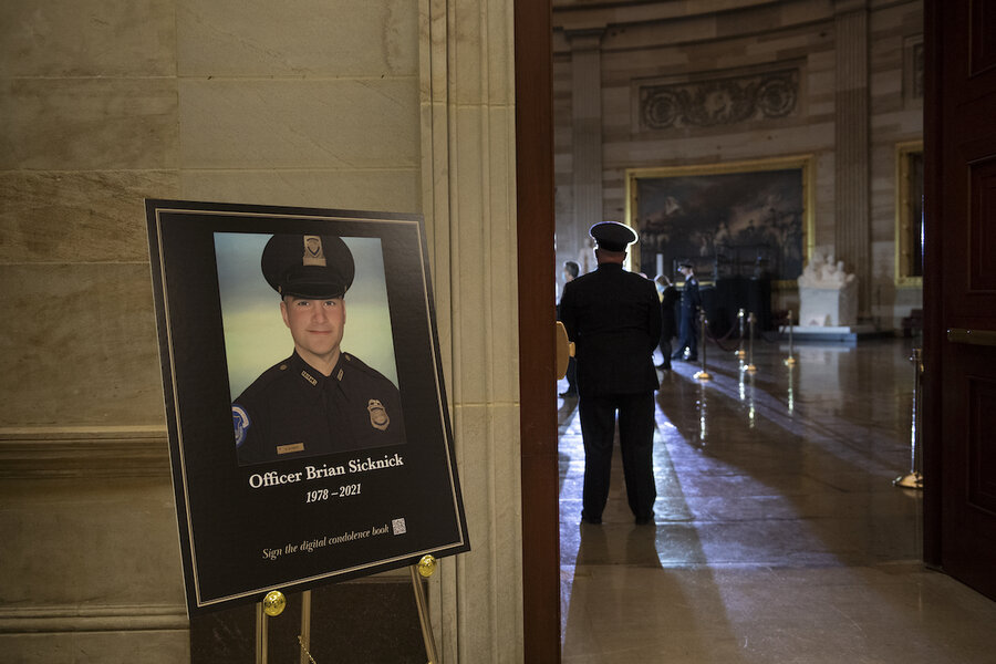 Capitol assault: two men charged in death of officer after riot thumbnail