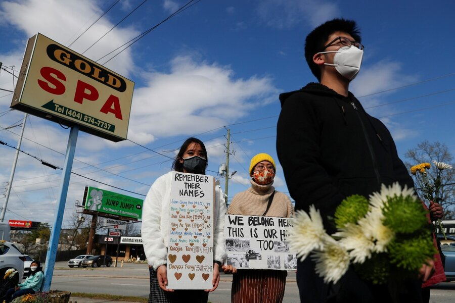 www.csmonitor.com: Across the US, rallies to denounce Asian hate and misogyny