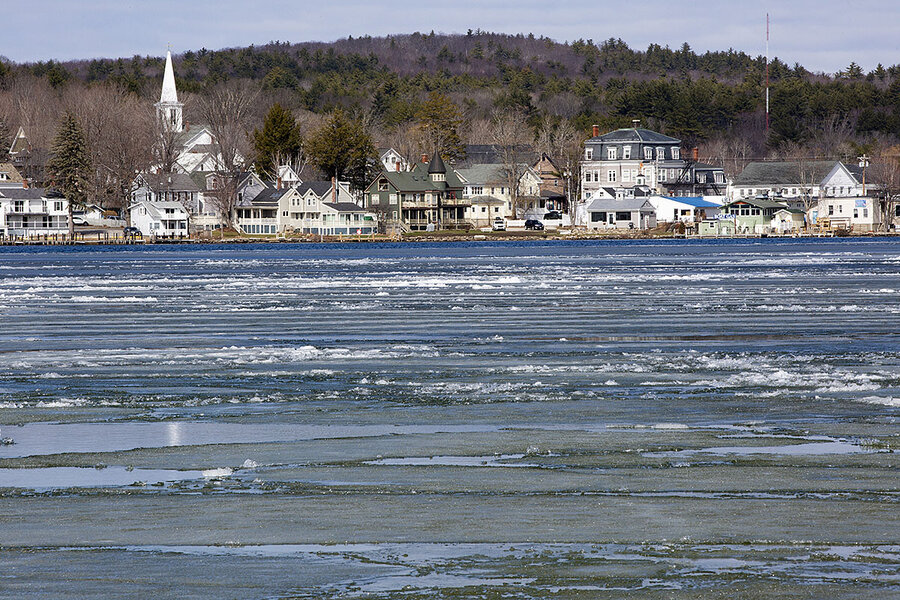 Ice Out: How N.H.'s rite of spring has become a symbol of climate change