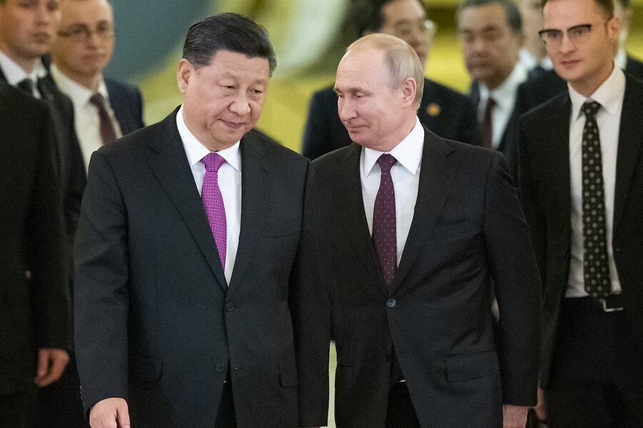 Vying with the West for power, Russia moves closer to China