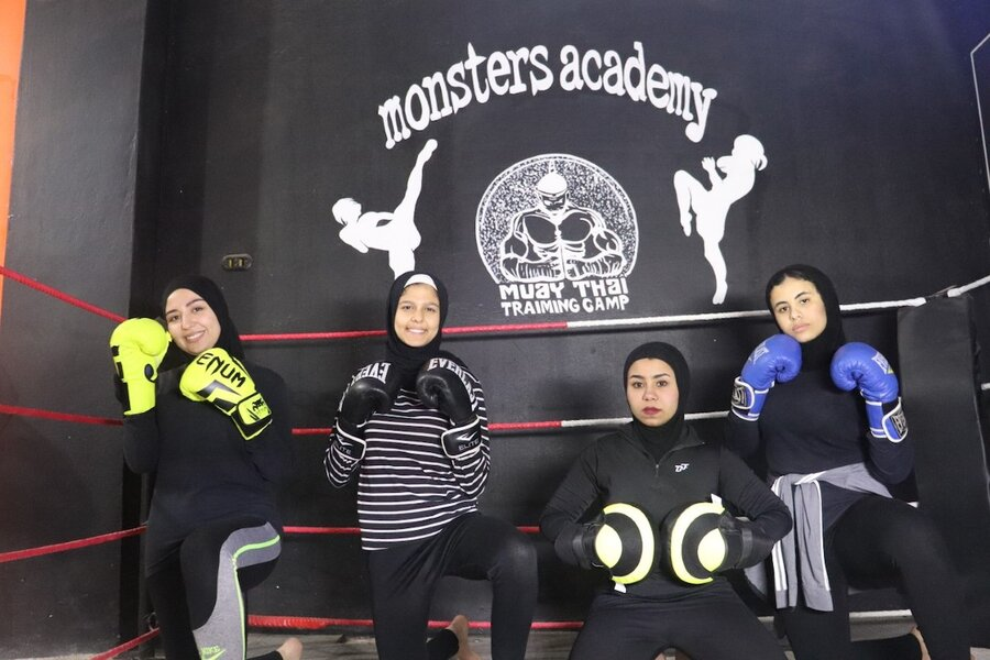 In Egypt, women fight sexism and harassment with Thai boxing